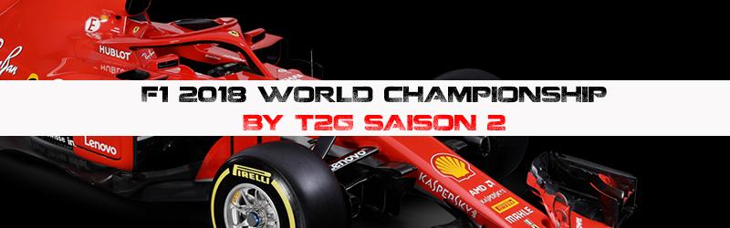 Championnat F1 2018 World Championship BY T2G Saison 2 Titre11