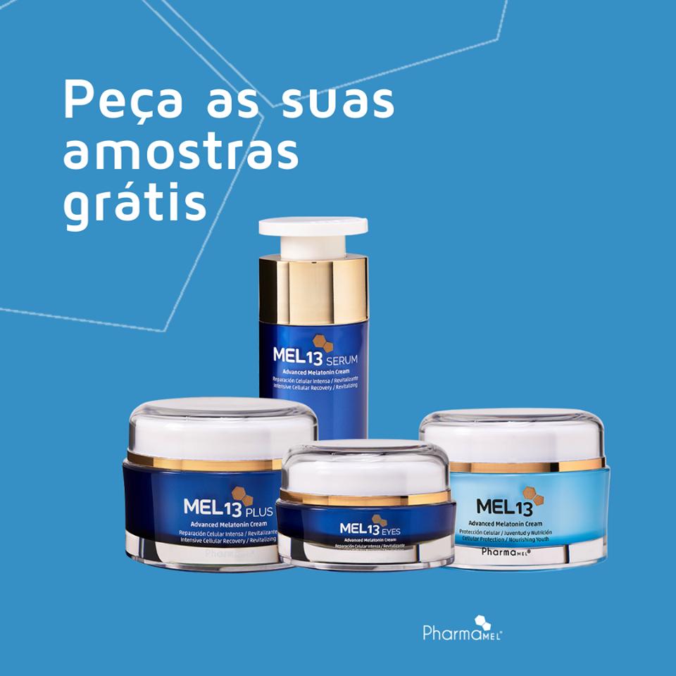 Amostras Pharmamel Portugal - Mel13 44645010