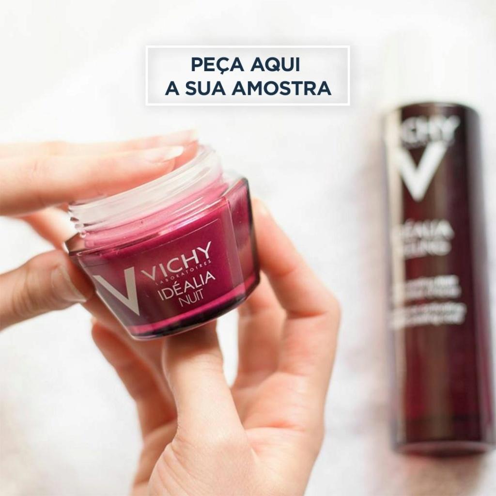 Amostras Vichy - Creme Ideália 5902e610