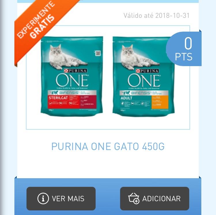 Amostras My Nestlé - Reembolso Purina One Gato Fc74a510