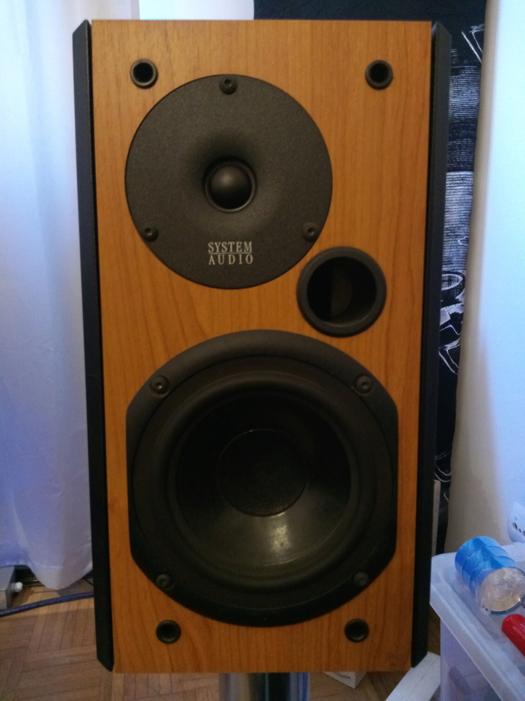 Colunas System Audio 1110 Img_2027