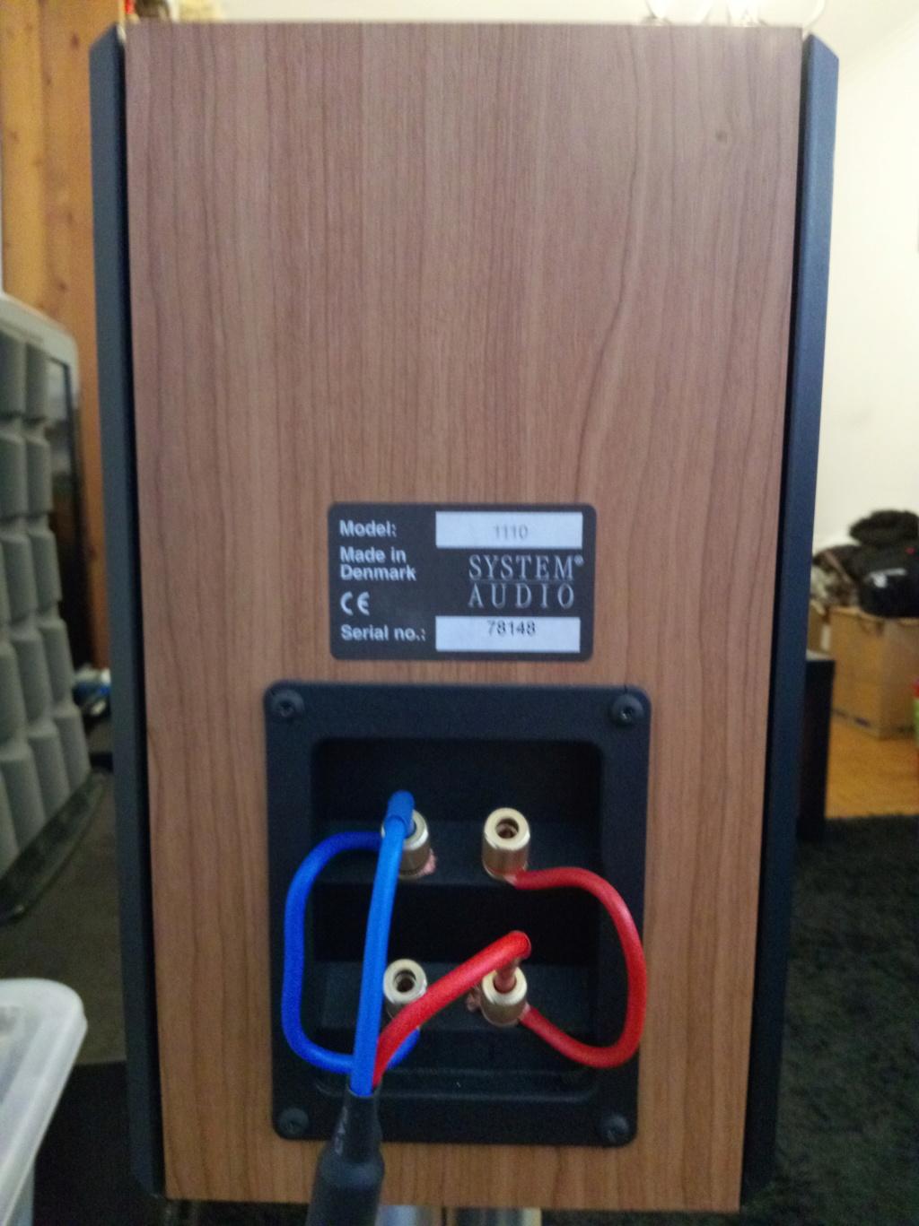 Colunas System Audio 1110 Img_2029