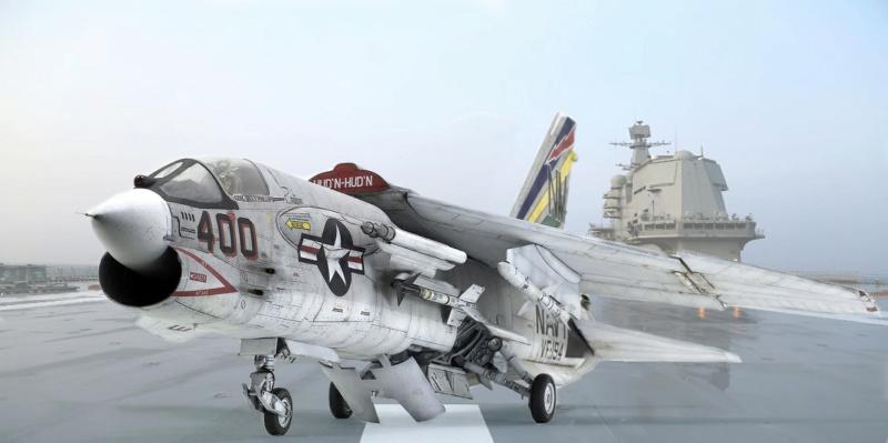 F-8E CRUSADER TRUMPETER 1/32 0012