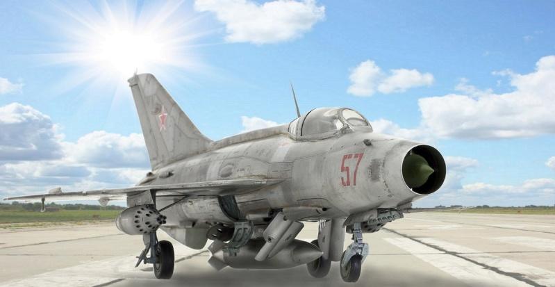 МИГ-21 Ф-13. Трумпетер 1/32. - Страница 2 010