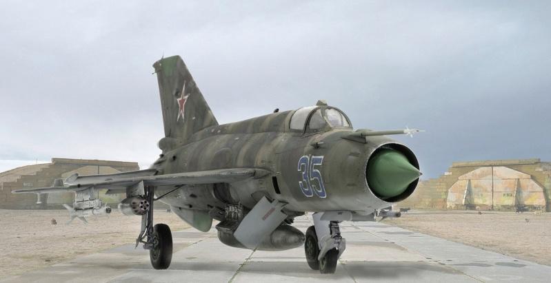MiG-21МФ 02218 Trumpeter 1/32 020