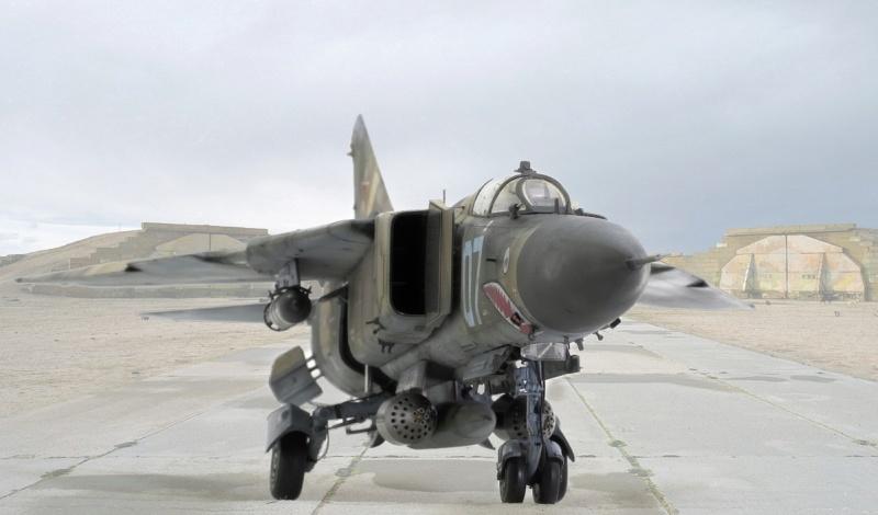МИГ-23 МЛД Трумпетер 1/32 021