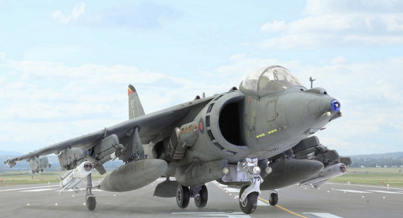 BAe Harrier GR.7 (RAF service) Trumpeter 02287 1/32 022