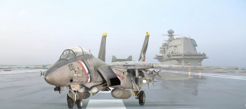 Grumman F-14D Super Tomcat. Trumpeter 03203. 1/32. 023
