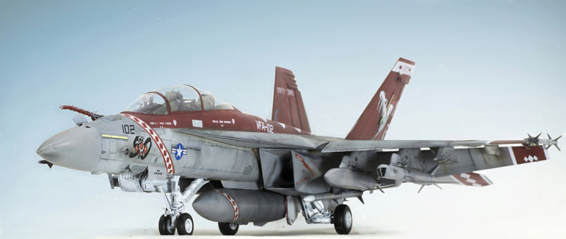 Boeing  F/A-18F Super Hornet Trumpeter 1/32 03205 - Страница 2 1025