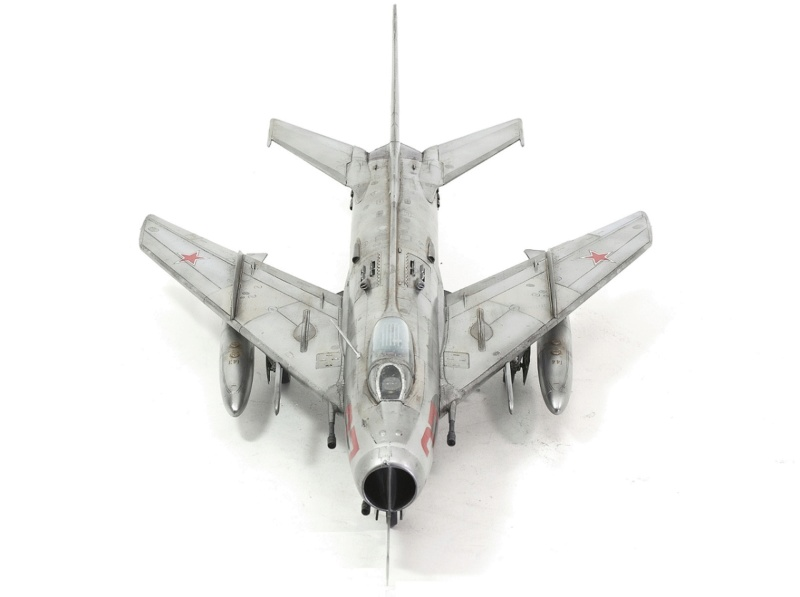 МИГ-19С. Трумпетер 1/32. 1110