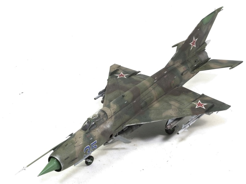 MiG-21МФ 02218 Trumpeter 1/32 1130