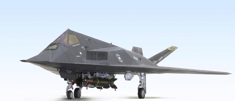 Lockheed F-117 Nighthawk. Trumpeter 1/32. 1132