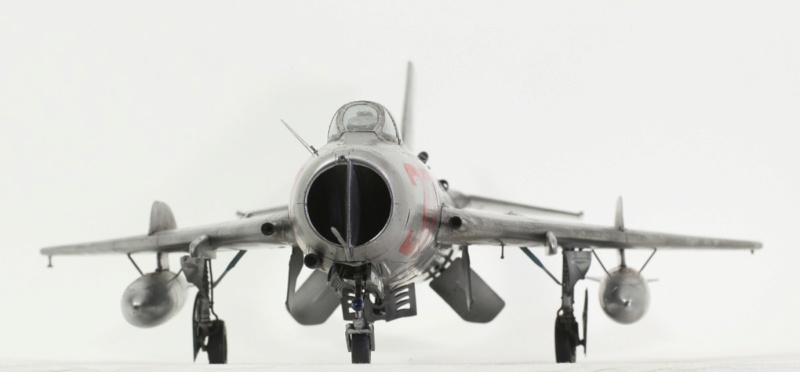 МИГ-19С. Трумпетер 1/32. 115