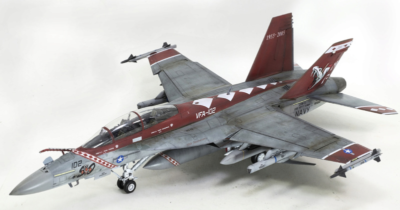 Boeing  F/A-18F Super Hornet Trumpeter 1/32 03205 - Страница 2 1225