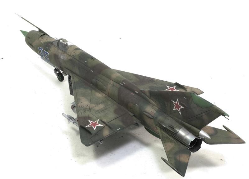 MiG-21МФ 02218 Trumpeter 1/32 1230