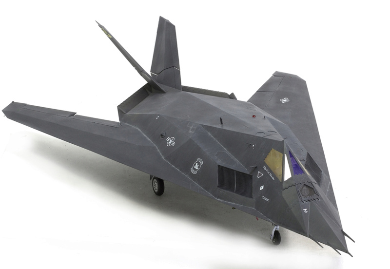 Lockheed F-117 Nighthawk. Trumpeter 1/32. 1232