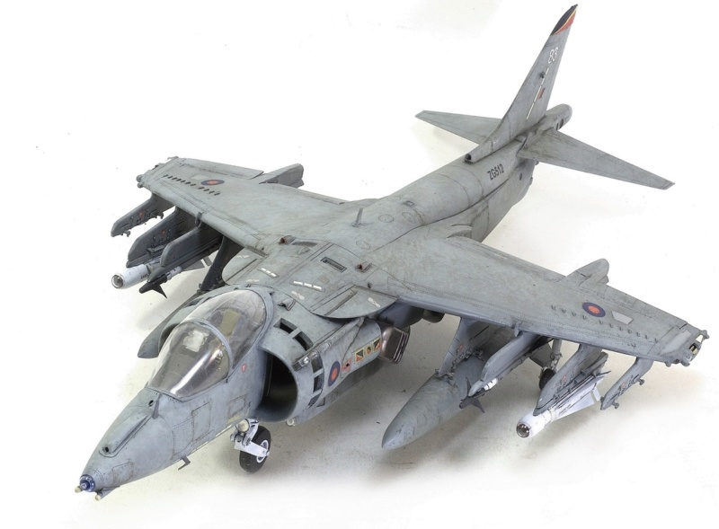 BAe Harrier GR.7 (RAF service) Trumpeter 02287 1/32 1238