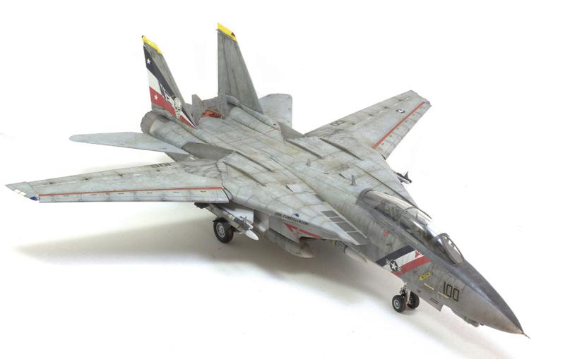 Grumman F-14D Super Tomcat. Trumpeter 03203. 1/32. 1243