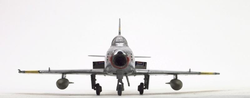 North American F-86F Sabre Jet. Italeri 1/32 133