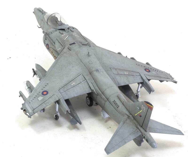 BAe Harrier GR.7 (RAF service) Trumpeter 02287 1/32 1338