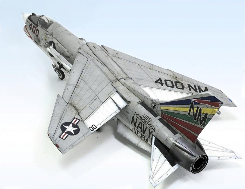 F-8E CRUSADER TRUMPETER 1/32 1342