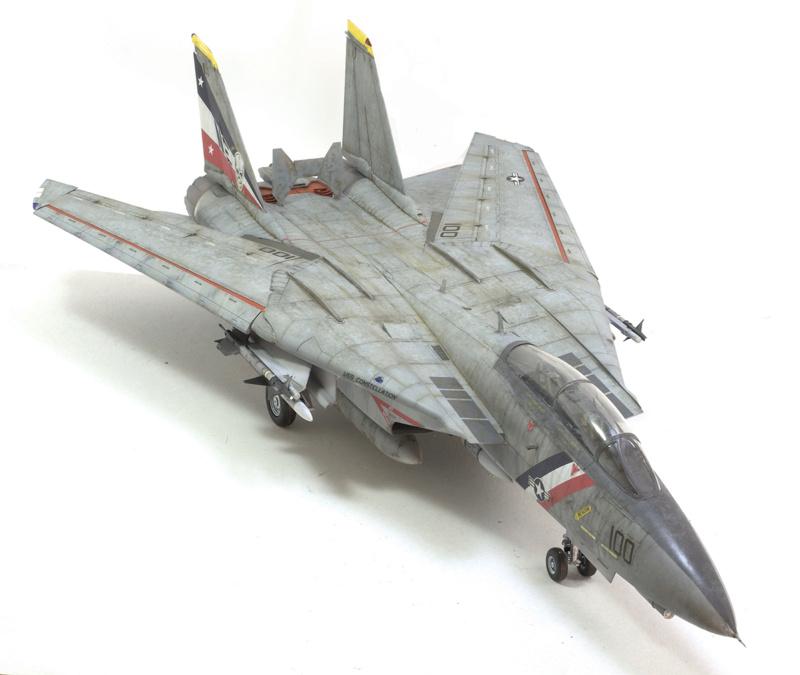 Grumman F-14D Super Tomcat. Trumpeter 03203. 1/32. 1344