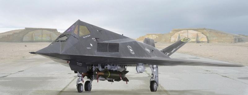 Lockheed F-117 Nighthawk. Trumpeter 1/32. 138