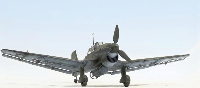 Ju-87B, 1:32, Trumpeter 141