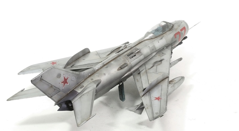 МИГ-19С. Трумпетер 1/32. 1410