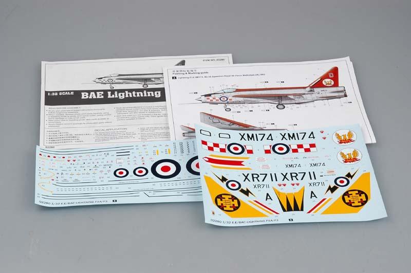 Lightning F.Mk.3 Trumpeter 1/32 1429_211