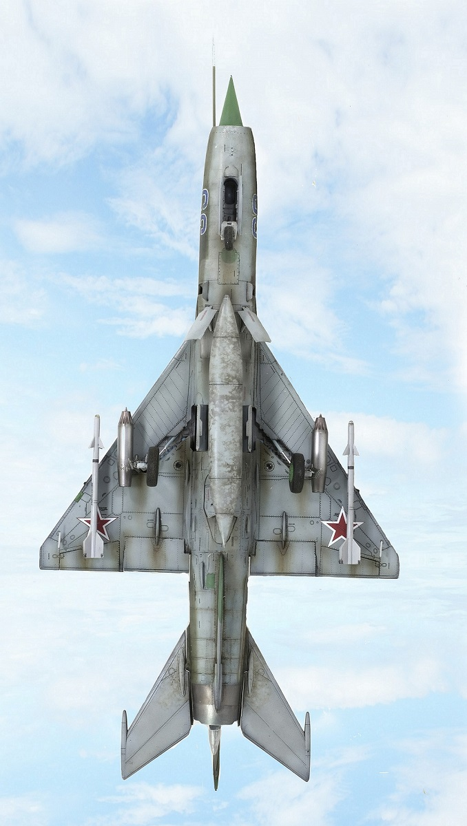 MiG-21МФ 02218 Trumpeter 1/32 1431