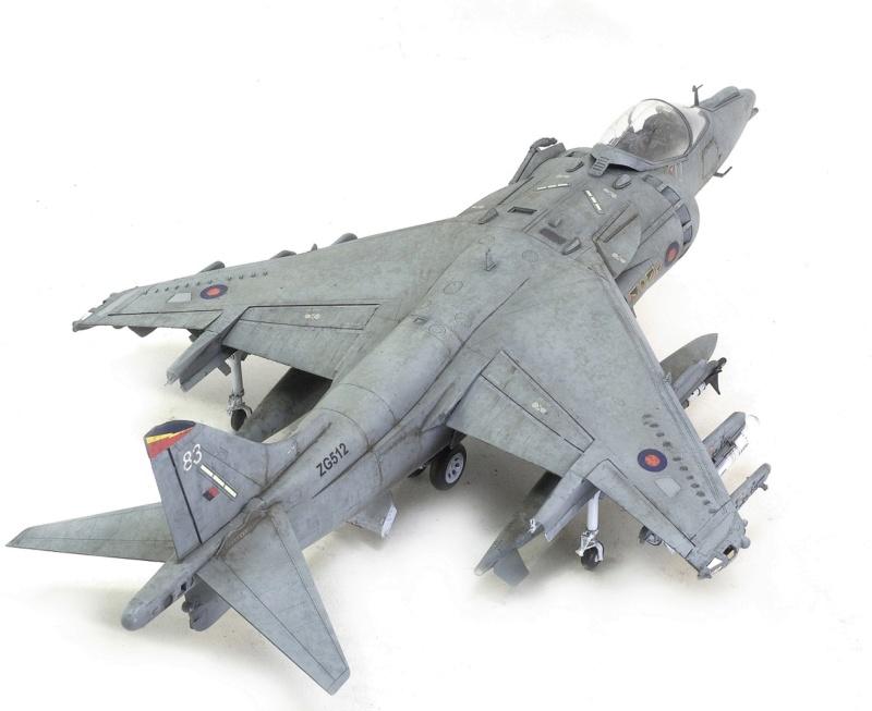 BAe Harrier GR.7 (RAF service) Trumpeter 02287 1/32 1439