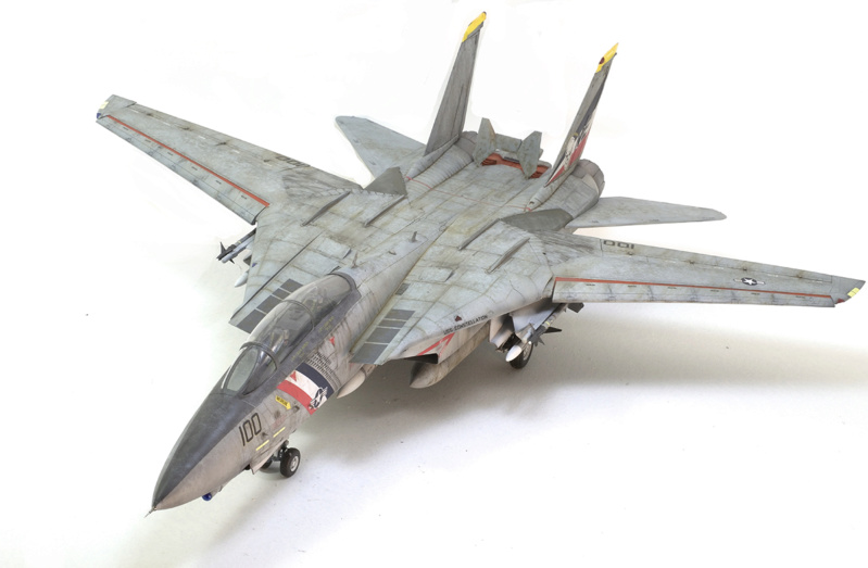 Grumman F-14D Super Tomcat. Trumpeter 03203. 1/32. 1445