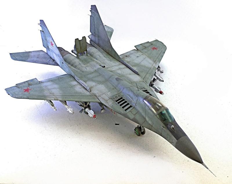 МИГ-29А. Трумпетер 1/32 1451