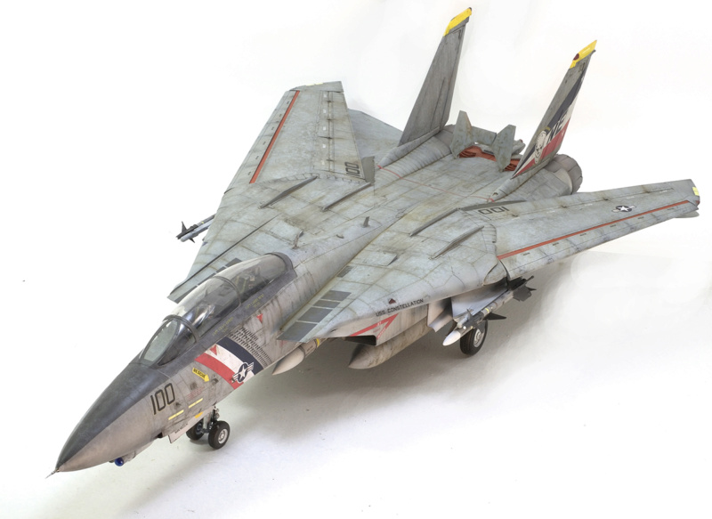 Grumman F-14D Super Tomcat. Trumpeter 03203. 1/32. 1539