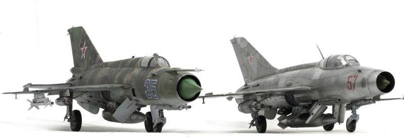 MiG-21МФ 02218 Trumpeter 1/32 1625