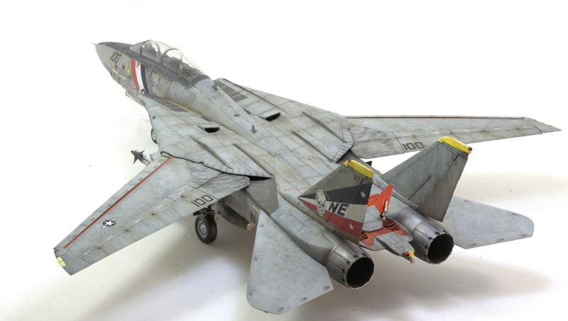 Grumman F-14D Super Tomcat. Trumpeter 03203. 1/32. 1630