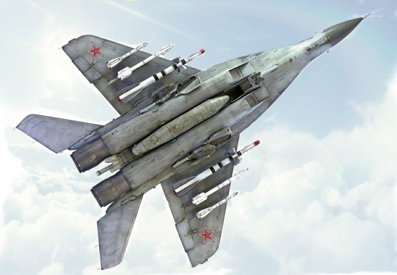 МИГ-29А. Трумпетер 1/32 16_hf11