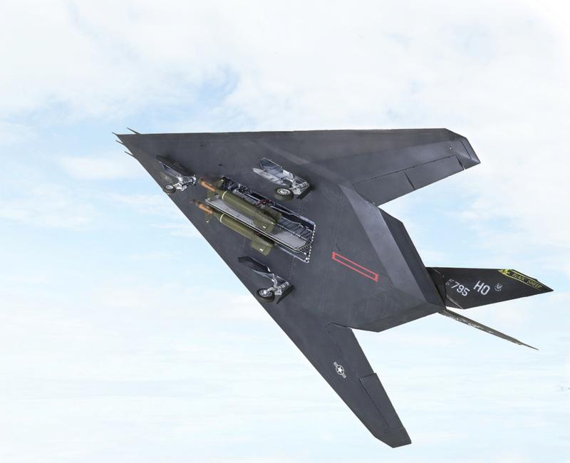 Lockheed F-117 Nighthawk. Trumpeter 1/32. 1817