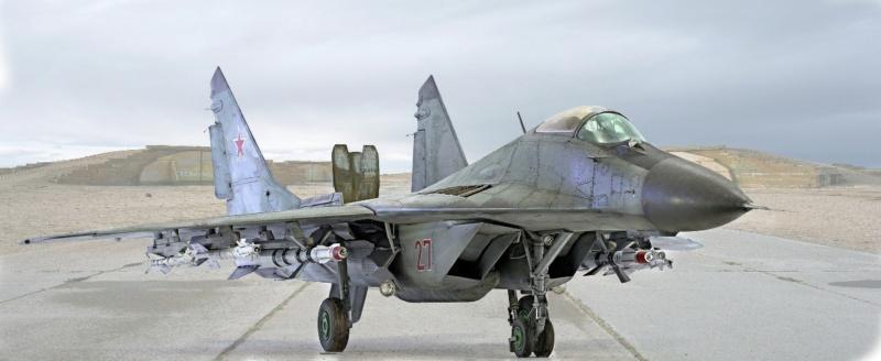 МИГ-29А. Трумпетер 1/32 1_hf11