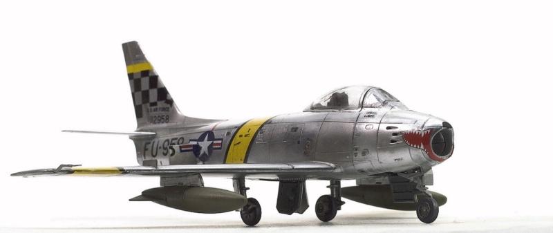North American F-86F Sabre Jet. Italeri 1/32 227