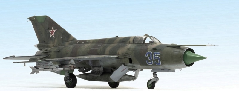 MiG-21МФ 02218 Trumpeter 1/32 233