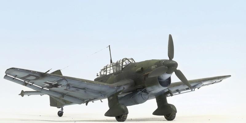 Ju-87B, 1:32, Trumpeter 237