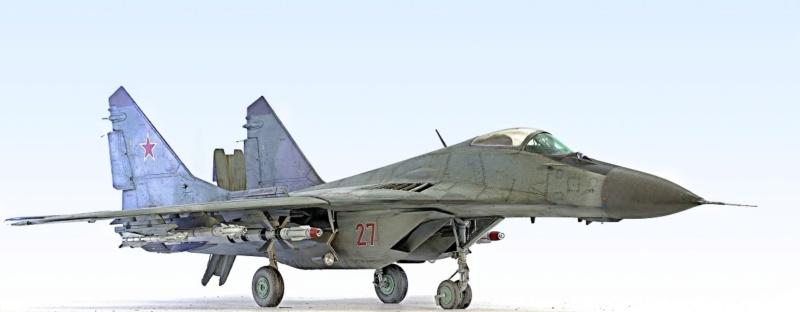 МИГ-29А. Трумпетер 1/32 2_hf12