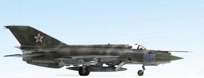 MiG-21МФ 02218 Trumpeter 1/32 329