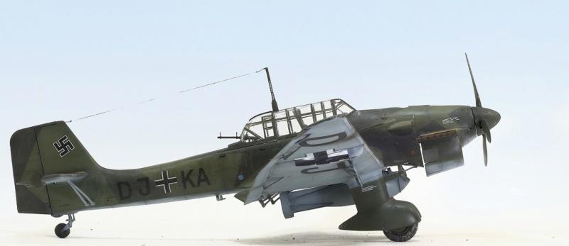 Ju-87B, 1:32, Trumpeter 333