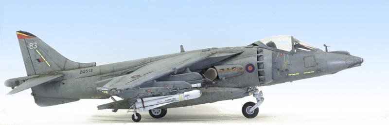 BAe Harrier GR.7 (RAF service) Trumpeter 02287 1/32 337