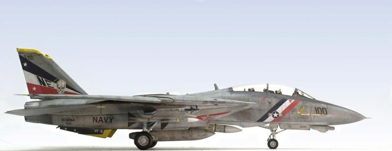 Grumman F-14D Super Tomcat. Trumpeter 03203. 1/32. 341