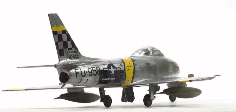 North American F-86F Sabre Jet. Italeri 1/32 424