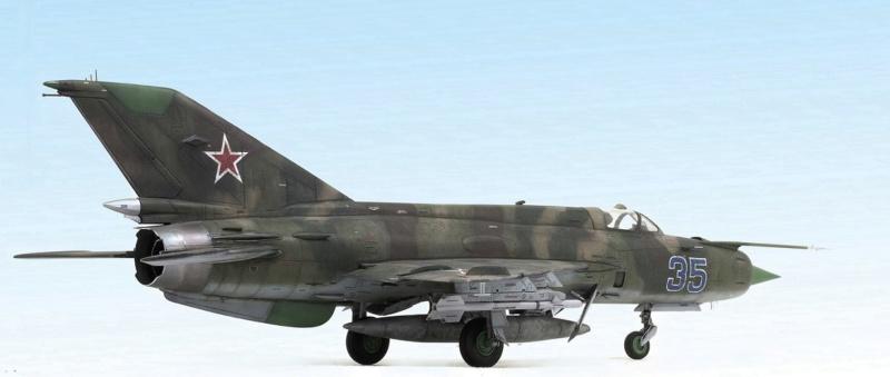 MiG-21МФ 02218 Trumpeter 1/32 430